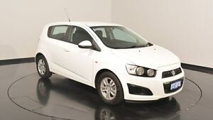 2014 Holden Barina TM MY15 CD White 5 Speed Manual Hatchback Victoria Park Victoria Park Area Preview