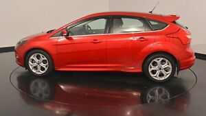 2013 Ford Focus LW MKII Sport PwrShift Candy Red 6 Speed Sports Automatic Dual Clutch Hatchback Welshpool Canning Area Preview
