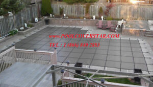 Swimming Pool Safety Covers with Install for Early Bird Sale
