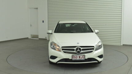 2014 Mercedes-Benz A180 W176 D-CT White 7 Speed Sports Automatic Dual Clutch Hatchback Tweed Heads South Tweed Heads Area Preview
