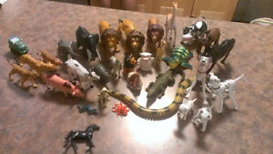 Collection of animals. $12