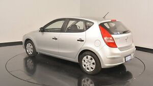 2011 Hyundai i30 FD MY11 SX Sleek Silver 4 Speed Automatic Hatchback Welshpool Canning Area Preview