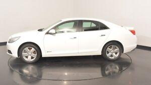 2014 Holden Malibu V300 MY13 CD White 6 Speed Sports Automatic Sedan