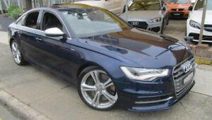 2012 Audi S6 4GL 4.0 TFSI LE Blue 7 Speed Auto Direct Shift Sedan Homebush Strathfield Area Preview