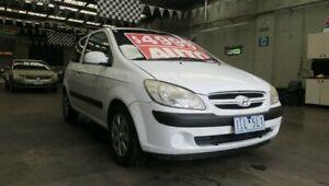 2006 Hyundai Getz TB Upgrade 1.4 White 4 Speed Automatic Hatchback Mordialloc Kingston Area Preview