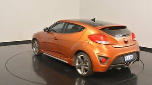 2012 Hyundai Veloster FS2 SR Coupe Turbo Orange 6 Speed Manual Hatchback Victoria Park Victoria Park Area Preview
