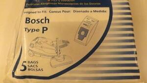 Envirocare-Type P Bosch Replacement Vacuum Cleaner Bag (5 Pack)