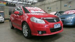 2011 Suzuki SX4 GY MY11 Red 6 Speed Manual Hatchback Mordialloc Kingston Area Preview
