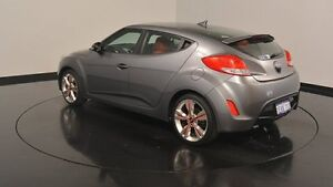 2013 Hyundai Veloster FS3 Street Coupe D-CT Silver 6 Speed Sports Automatic Dual Clutch Hatchback Victoria Park Victoria Park Area Preview