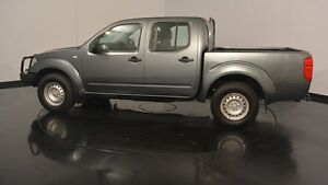 2011 Nissan Navara D40 RX Grey 5 Speed Automatic Utility Victoria Park Victoria Park Area Preview