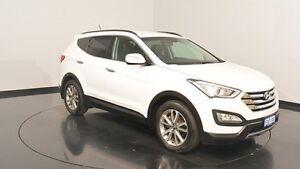 2014 Hyundai Santa Fe DM MY14 Elite Creamy White 6 Speed Sports Automatic Wagon Victoria Park Victoria Park Area Preview