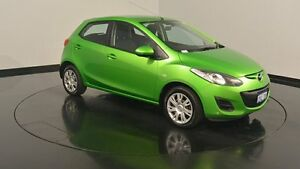 2012 Mazda 2 DE10Y2 MY12 Neo Green 5 Speed Manual Hatchback Welshpool Canning Area Preview