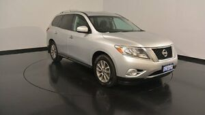 2014 Nissan Pathfinder R52 MY14 ST X-tronic 4WD Silver 1 Speed Constant Variable Wagon Victoria Park Victoria Park Area Preview