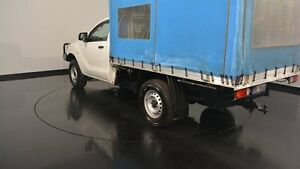 2015 Mazda BT-50 UP0YF1 XT 4x2 Hi-Rider White 6 Speed Manual Cab Chassis Welshpool Canning Area Preview