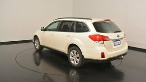 2010 Subaru Outback B5A MY10 2.5i Lineartronic AWD Premium Pearl White 6 Speed Constant Variable Welshpool Canning Area Preview