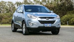 2011 Hyundai ix35 LM MY11 Elite AWD Blue 6 Speed Sports Automatic Wagon Cannington Canning Area Preview