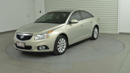 2011 Holden Cruze JH Series II MY CDX Gold 6 Speed Sports Automatic Sedan Southport Gold Coast City Preview