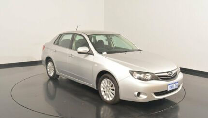 2010 Subaru Impreza G3 MY10 R AWD Silver 4 Speed Sports Automatic Sedan Victoria Park Victoria Park Area Preview