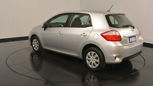 2010 Toyota Corolla ZRE152R MY10 Ascent Silver & Chrome 4 Speed Automatic Hatchback Welshpool Canning Area Preview