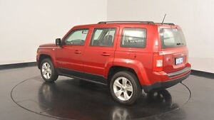 2016 Jeep Patriot MK MY16 Sport CVT Auto Stick 4x2 Deep Cherry Red Pearl 6 Speed Constant Variable Victoria Park Victoria Park Area Preview