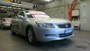 2008 Honda Accord 50 VTi Silver 5 Speed Automatic Sedan Mordialloc Kingston Area Preview