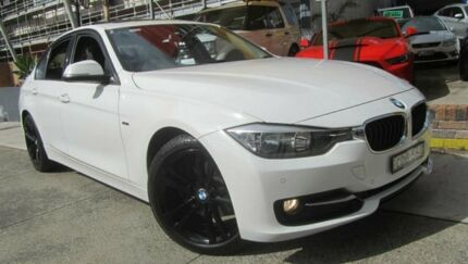 2012 BMW 320d F30 Sport Line White 8 Speed Automatic Sedan Homebush Strathfield Area Preview