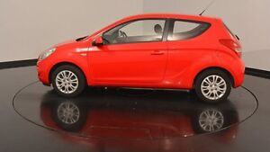 2011 Hyundai i20 PB MY11 Active Electric Red 5 Speed Manual Hatchback Victoria Park Victoria Park Area Preview