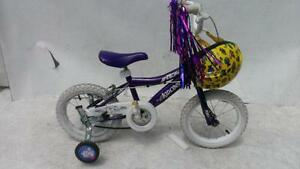14 inch Girl's 3-6 year old ROX 14 Bike properly Training Wheels