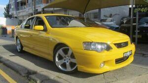 2005 Ford Falcon BA MkII XR8 Yellow 6 Speed Manual Sedan Homebush Strathfield Area Preview