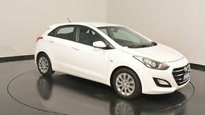 2015 Hyundai i30 GD4 Series II MY16 Active Polar White 6 Speed Sports Automatic Hatchback Victoria Park Victoria Park Area Preview