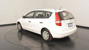 2012 Hyundai i30 FD MY11 SX cw Wagon White 4 Speed Automatic Wagon