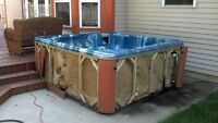 Hot tub winterizing and cleaning services special rate on now