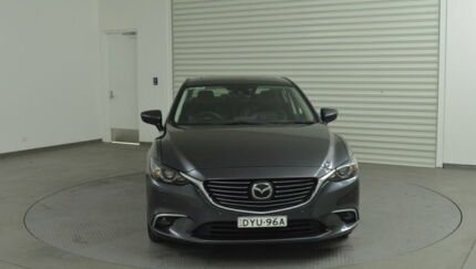2016 Mazda 6 GJ1032 Atenza SKYACTIV-Drive Grey 6 Speed Sports Automatic Sedan Tweed Heads South Tweed Heads Area Preview