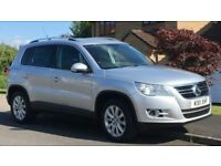 11 Reg Volkswagen Tiguan 2.0 TDI Match 4Motion 140BHP Immaculate as Vitara Xtrail Freelander Showgun