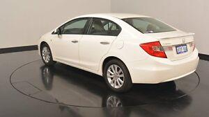 2012 Honda Civic 9th Gen Ser II VTi-L White 5 Speed Sports Automatic Sedan Victoria Park Victoria Park Area Preview