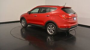 2014 Hyundai Santa Fe DM2 MY15 Elite Red Merlot 6 Speed Sports Automatic Wagon Welshpool Canning Area Preview