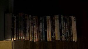 30 DVDs and 1 Blu-Ray Movies - American Hustle, Ray, Yes Man