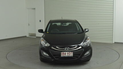2013 Hyundai i30 GD Active Black 6 Speed Sports Automatic Hatchback Tweed Heads South Tweed Heads Area Preview