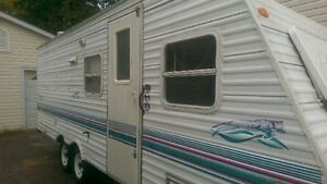 Travel trailer perfect for hunting season