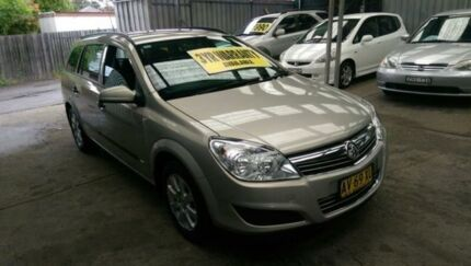 2008 Holden Astra AH MY08.5 60th Anniversary Champagne 4 Speed Automatic Wagon Lidcombe Auburn Area Preview