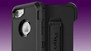 New Black iPhone Otter Box Defender Series Case