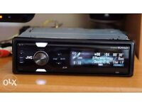 JVC KD-SHX751 Car Radio/Head Unit with iPod Connection, SD Card Slot and Full Colour Screen