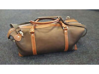 Voyage 100% natural leather brown bag