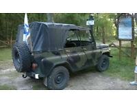 UAZ-469 off-road military light utility vehicle
