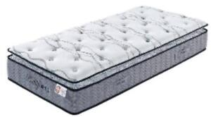 FREE DELIVERY!  BEAUTY SLEEP KING PILLOW TOP MATTRESS IN A BOX. M1612 NOW $629.00 SAVE $670