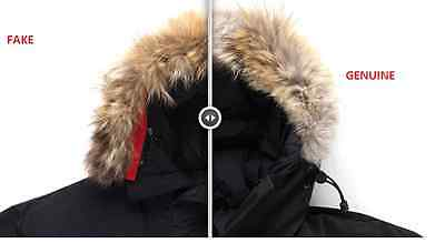 canada goose jacket real vs fake