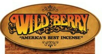 "50 Wild Berry Incense 11"" Stick's  Pick Any Scent Hand Dipped Made in USA"