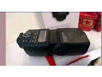 New flashgun flash light for digital camera slr dslr