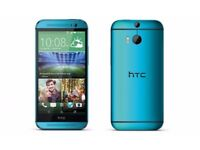 Unlocked NEW HTC ONE (M7) 32GB Quad-Core 4.7 Inches Android Smart Phone - Blue