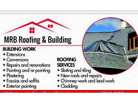 flat roofs, exterior painting ,slaters, roofers